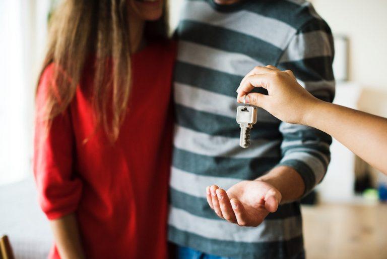 people holding keys